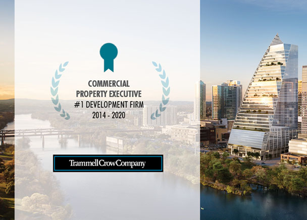 Trammell Crow Company Named #1 Developer in the U.S. for Seventh Consecutive Year