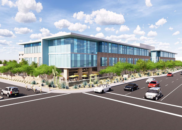 Trammell Crow Company Begins Construction On 175,000-Square-Foot Axis Raintree Office Development in Scottsdale