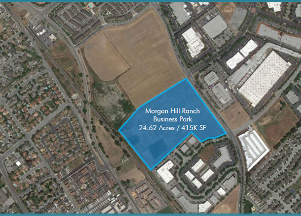 Trammell Crow Company and CBRE Global Investors Acquire 26-Acre Site in Silicon Valley for Light Industrial Development